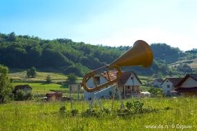 Труба - символ села Гуча