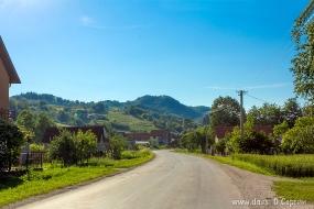 Дорога к селу Гуча
