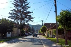 Улица Князя Милоша в Гуче