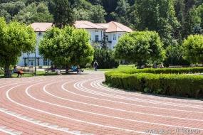 Центральная площадь санатория