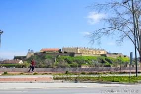 Вид на крепость со стороны Нови Сада