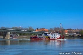 Буксир на Дунае