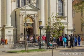 В Сербии все ходят в церковь