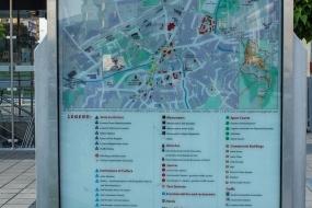 Туристическая карта Лозницы