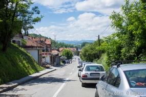 Баньска улица ведет в Баню Ковилячу