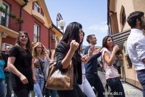 Студенты гуляют