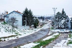 Зимняя дорога в Нештине