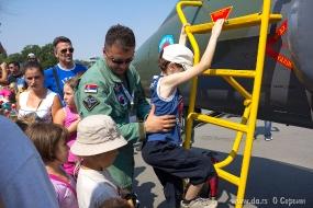 Летчики и дети