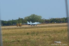 МиГ-29 российских ВВС произел посадку