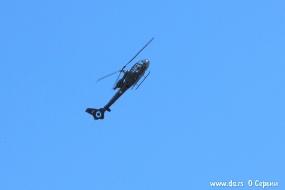 Вертолет Gazelle сербских ВВС