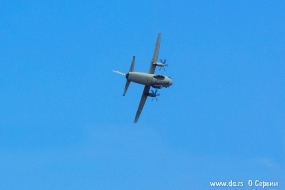 C-27J Spartan итальянских ВВС