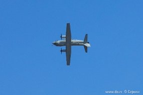 C-27J Spartan выполняет бочку