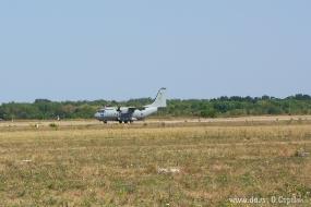 C-27J Spartan произвел посадку