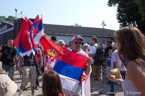 Сербский флаг