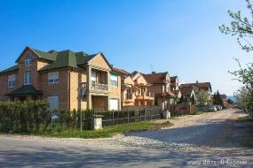 Улица в пригороде Нови Сада