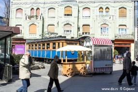 Кафе в старом трамвае