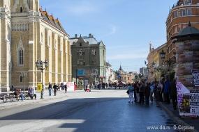 Пешеходная зона Нови Сада