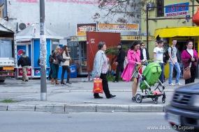 Рядом с рынком Футошка