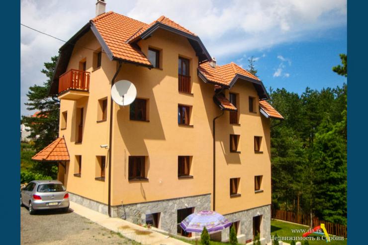 Отель с 8-ю двухкомнатными апартаментами в центре национального парка Тара