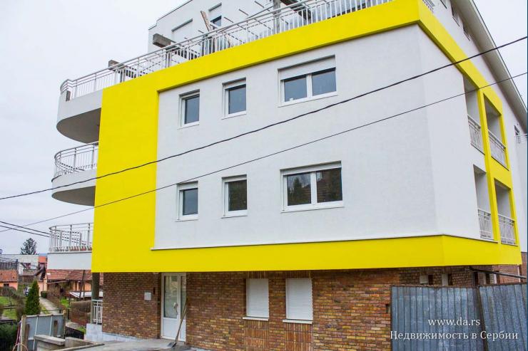 Новые квартиры в новом доме в Баня Ковиляча