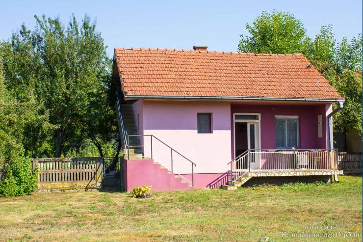 Небольшой дом с садом в пригороде Лозницы