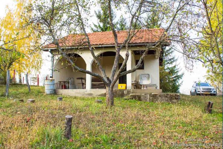 Небольшой дом с садом в живописной части Лозницы