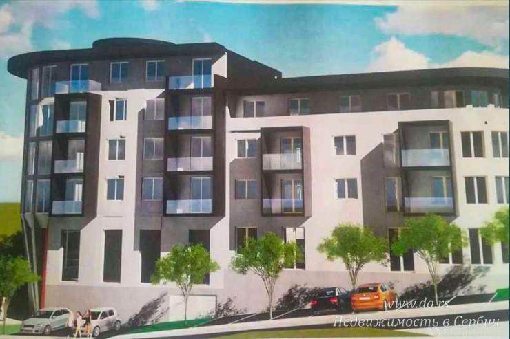 Однокомнатная квартира в новом доме в новом районе