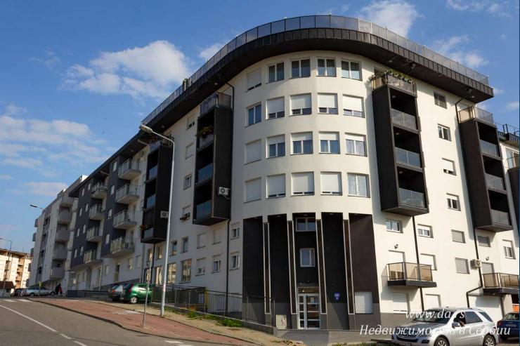 Однокомнатная квартира в новом доме в современном районе