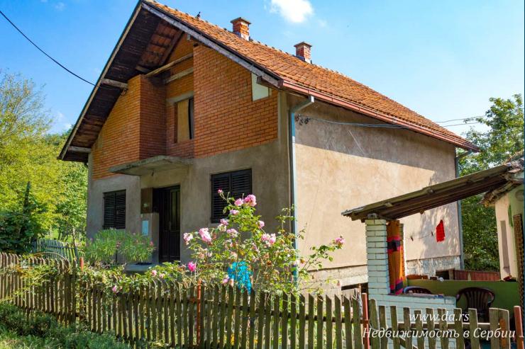 Дом с большим участком 1 га в Лознице