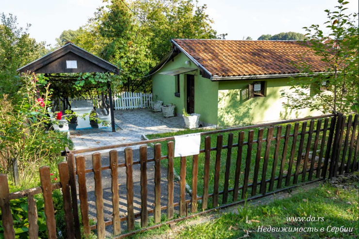 Недорогой дом с садом в пригороде Лозницы