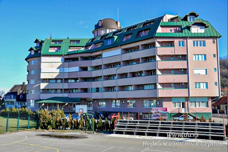 Однокомнатные квартиры в центре курорта Баня Ковилячя