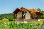 0483, Отличный новый дом с садом в живописном месте среди гор