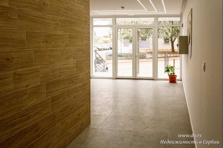 Новая однокомнатная квартиры в новом доме в Лознице