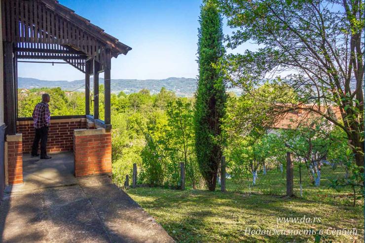 Дом на природе в Бане Ковиляче