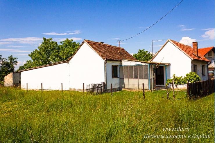 Дом в Лознице с хозяйственными постройками под мастерскую