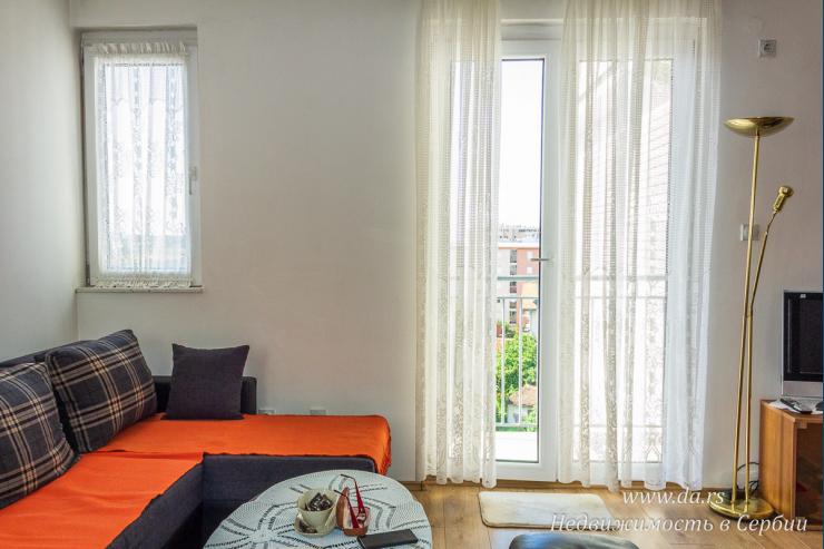 Новая однокомнатная квартира в центре Лозницы