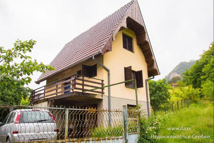 Уютный дом рядом с рекой Дрина