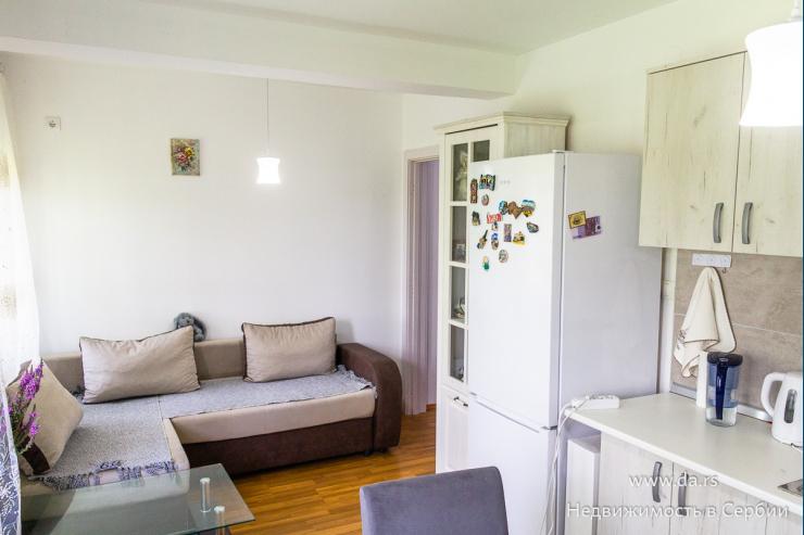 Однокомнатная меблированная квартира в Лознице
