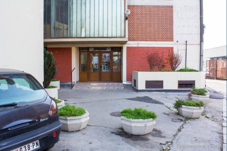 Трехкомнатная квартира в городе Шабац