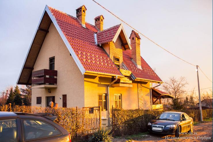 Дом в пригороде города Смедерево