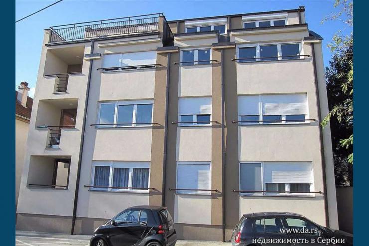 Новая двухкомнатная квартира в Белграде, Земун